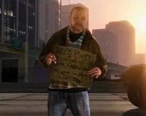 GTA 5 Homeless
