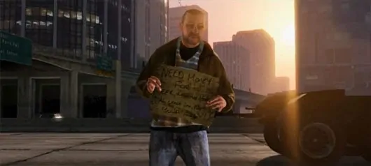 GTA 5 Homeless