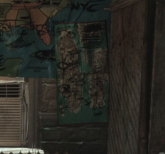 Max Payne 3 - Liberty City Map