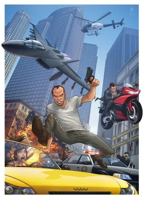 Patrick Brown GTA 5 Image