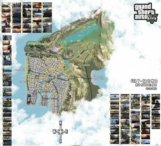 GTA V Fan Map