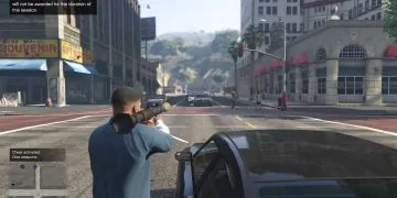 The give all weapons cheat in GTA 5 for PC