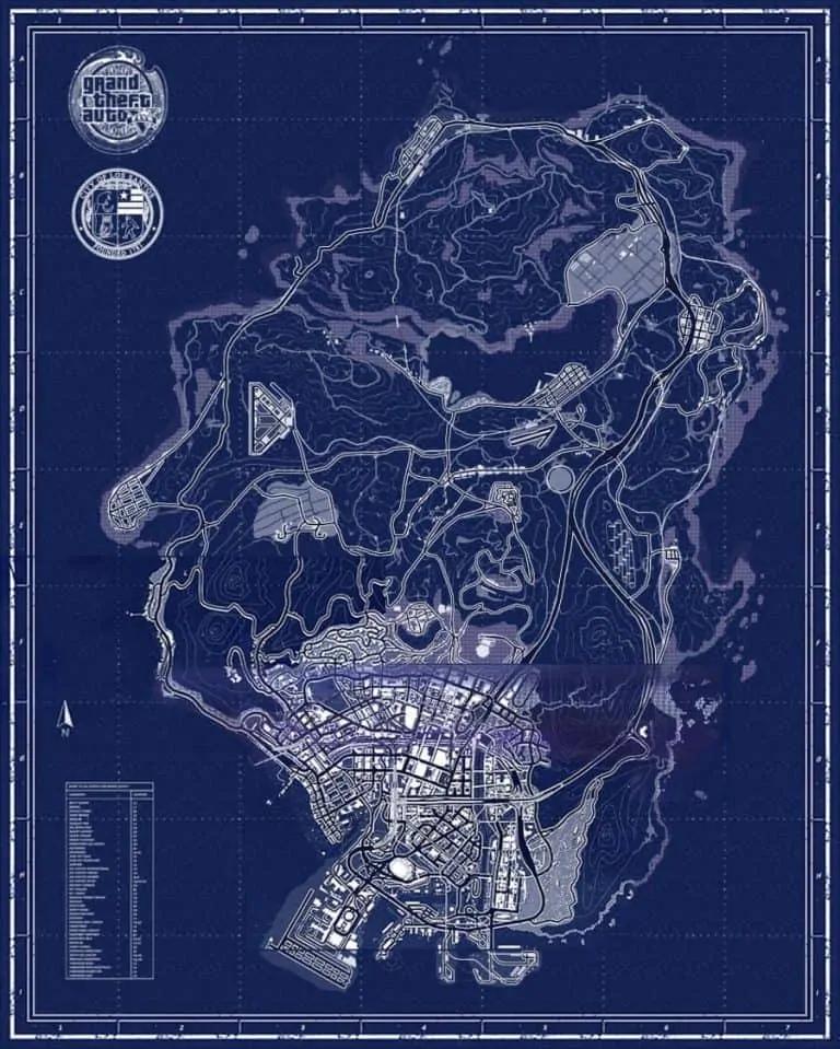 A Closer Look at the GTA 5 Map - Los Santos - GTA BOOM
