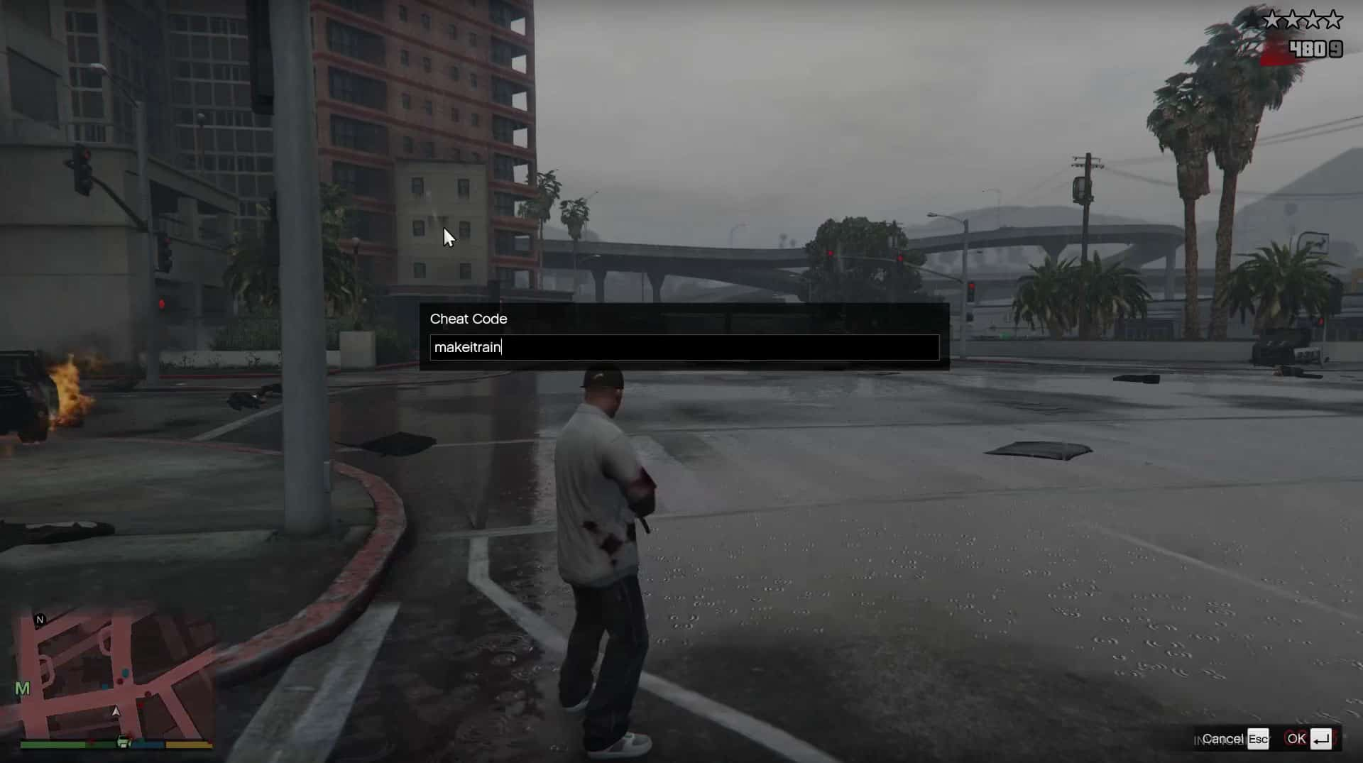 GTA 5 Cheats On PC: All Weapons, Invinciblity for Grand