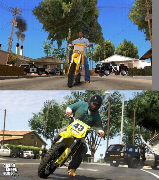 Comparing Screenshots from GTA SA to GTA 5 | IGN Boards