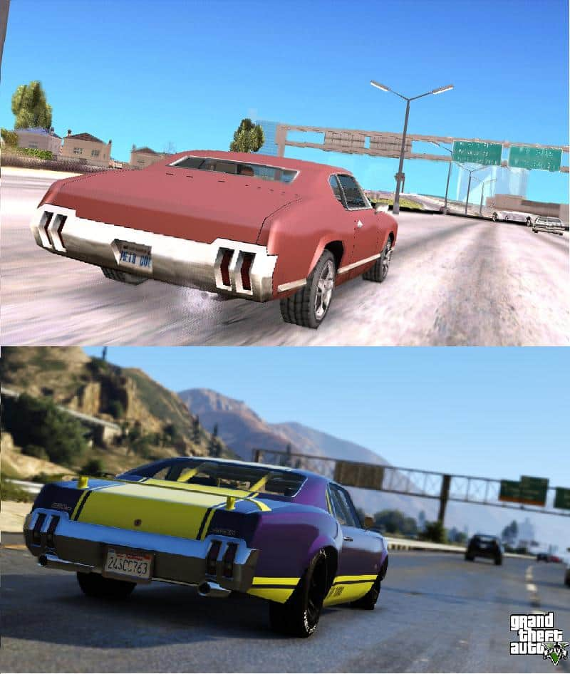Screenshot Comparison:... Xbox One Vs Ps4 Graphics Gta V