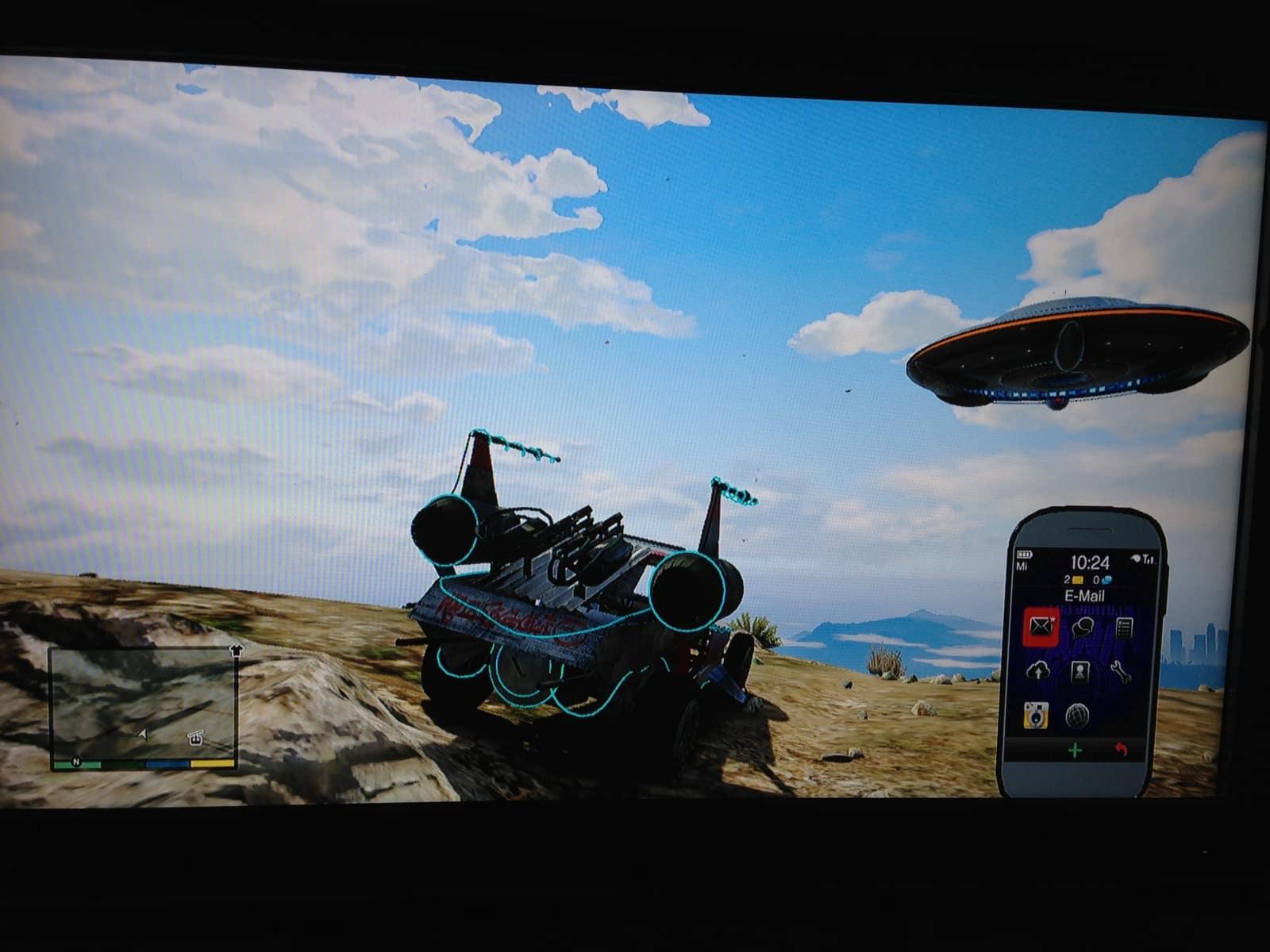 Bmx Skills Gta 5 Alien Car