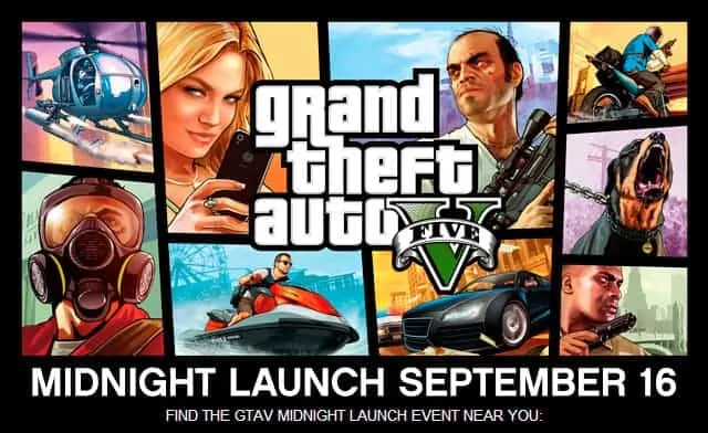 GTA V Was Released 4 Years Ago Today - GTA BOOM