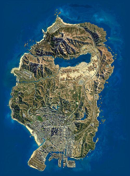 Ultimate GTA V Map