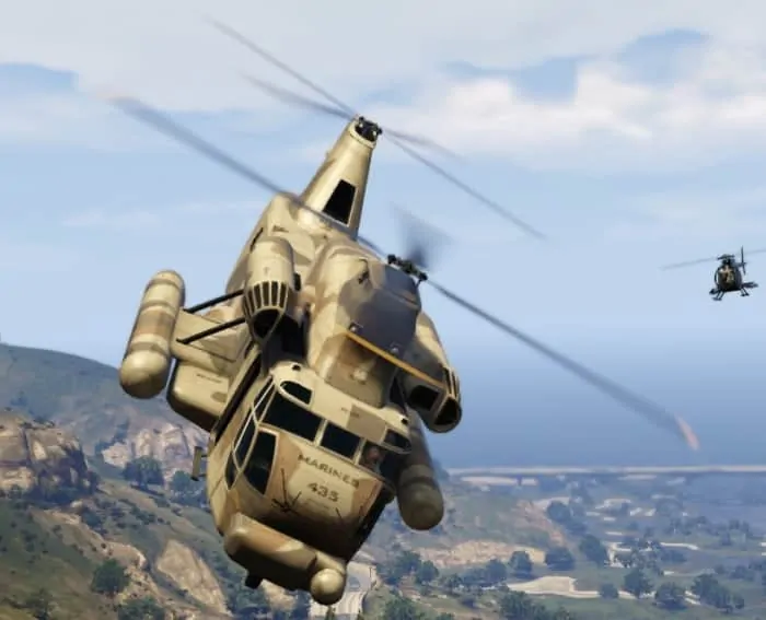 buzzard helicopter with Rockstar Reviewing Cargobob Spawn Level Restrictions on 41718 Gta Iv Tbogt Nagasaki Buzzard in addition Sikorsky ch53 main rotor 2400x1600 moreover Us Ps4 Cheats Codes For Gta 5 additionally Watch together with Ah 6j Little Bird.