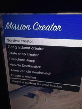 GTA 5 mission creator 1