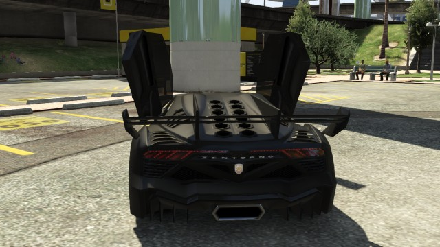 GTA V Batmobile