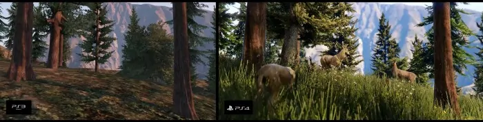 GTA V comparison