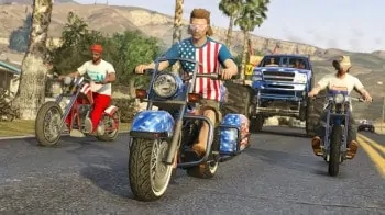 GTA V Independence Day screenshot
