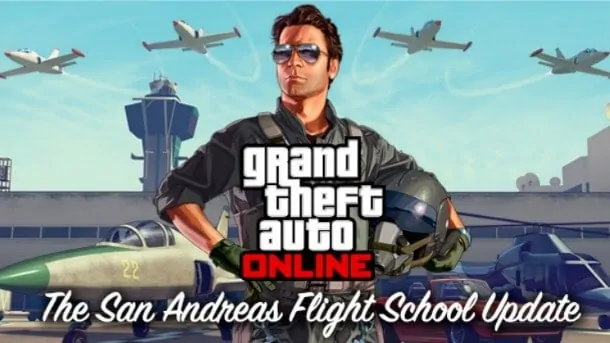 GTA V San Andreas Flight School
