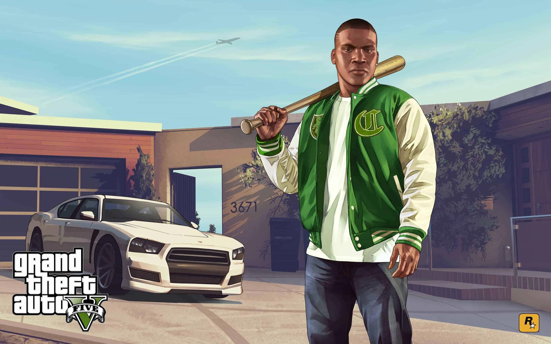 New GTA V Artwork Celebrates Anniversary - GTA BOOM