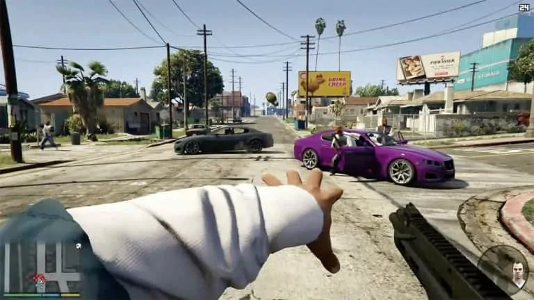 gta 5 online not showing