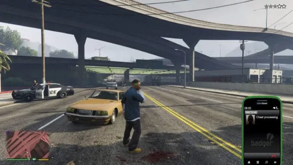 Dialling up some GTA 5 cell phone cheats