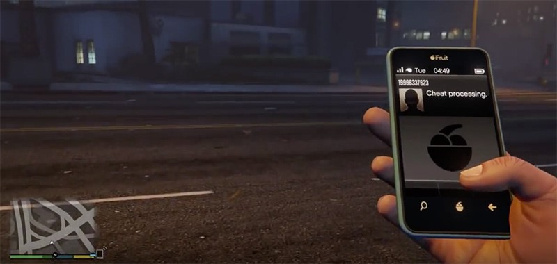 Guide to GTA 5 cell phone cheats