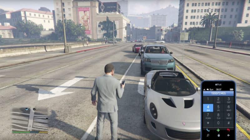 GTA 5 Cell Phone Cheats: Dial Up Guns, Cars, Big Foot - GTA BOOM