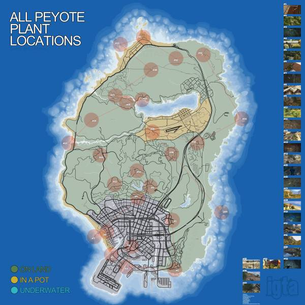 peyote-locations