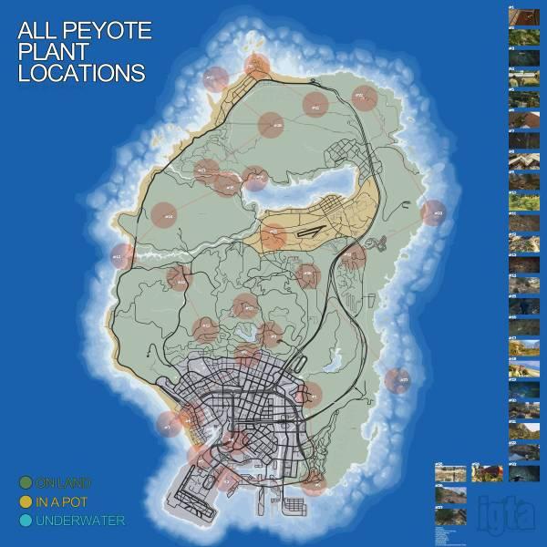 peyote-locations