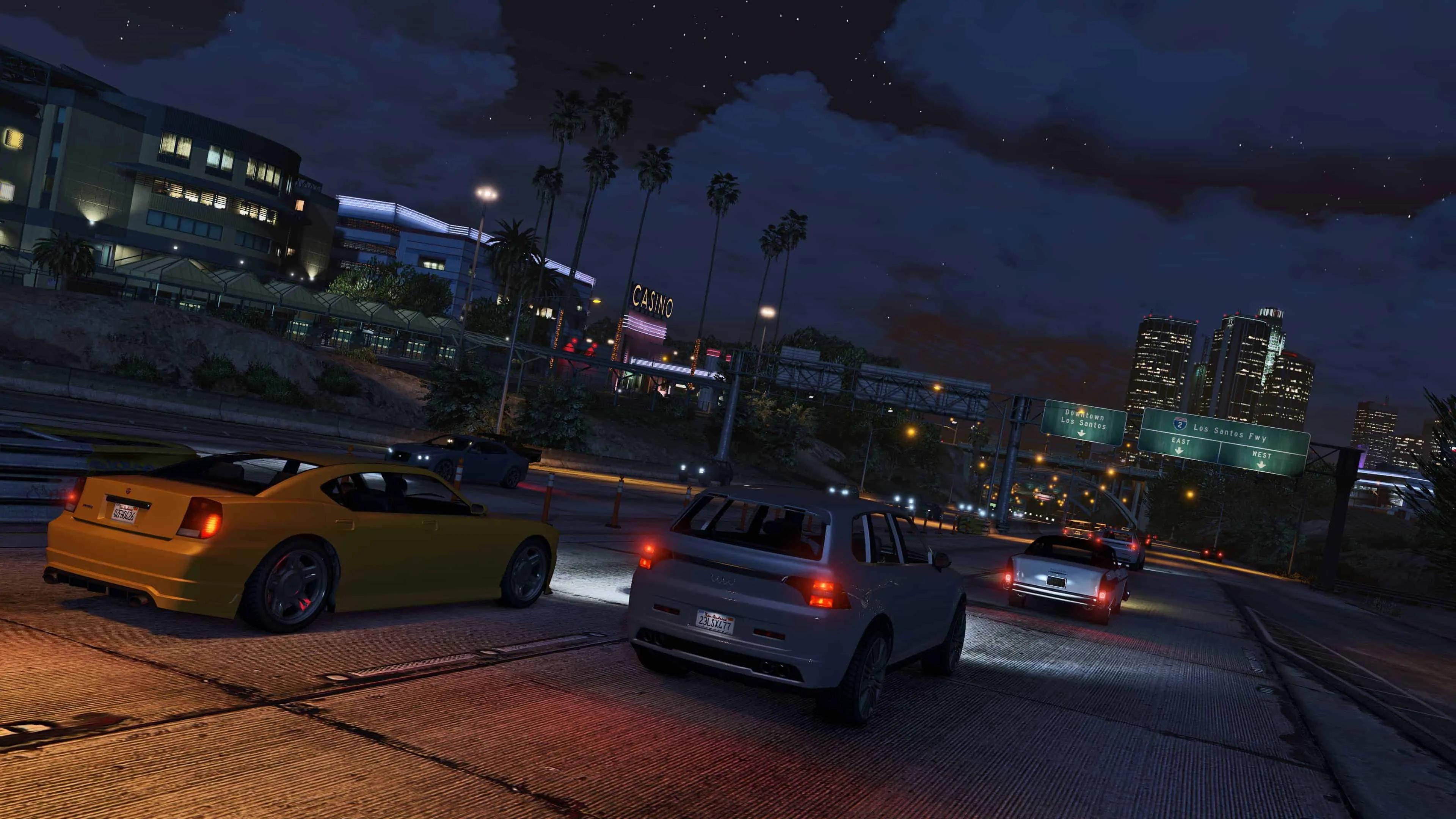 Gta V Single Player Get Online Cars Pc