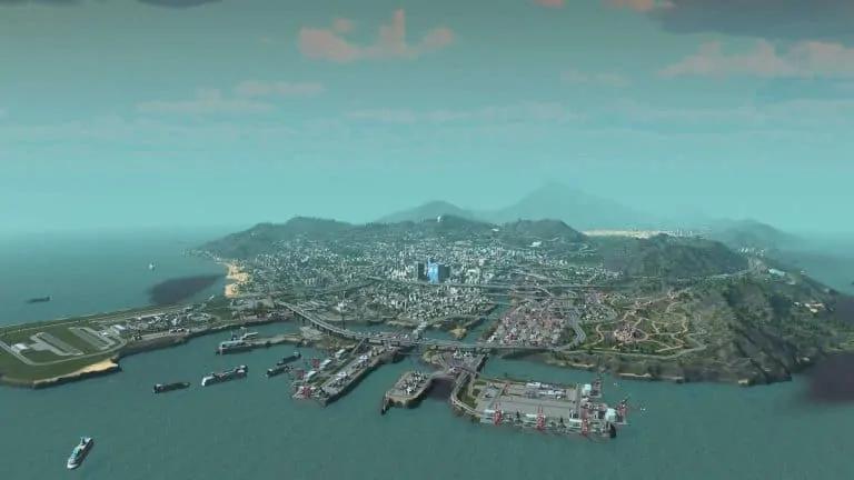 Here is GTA V's Los Santos in Cities: Skylines - GTA BOOM