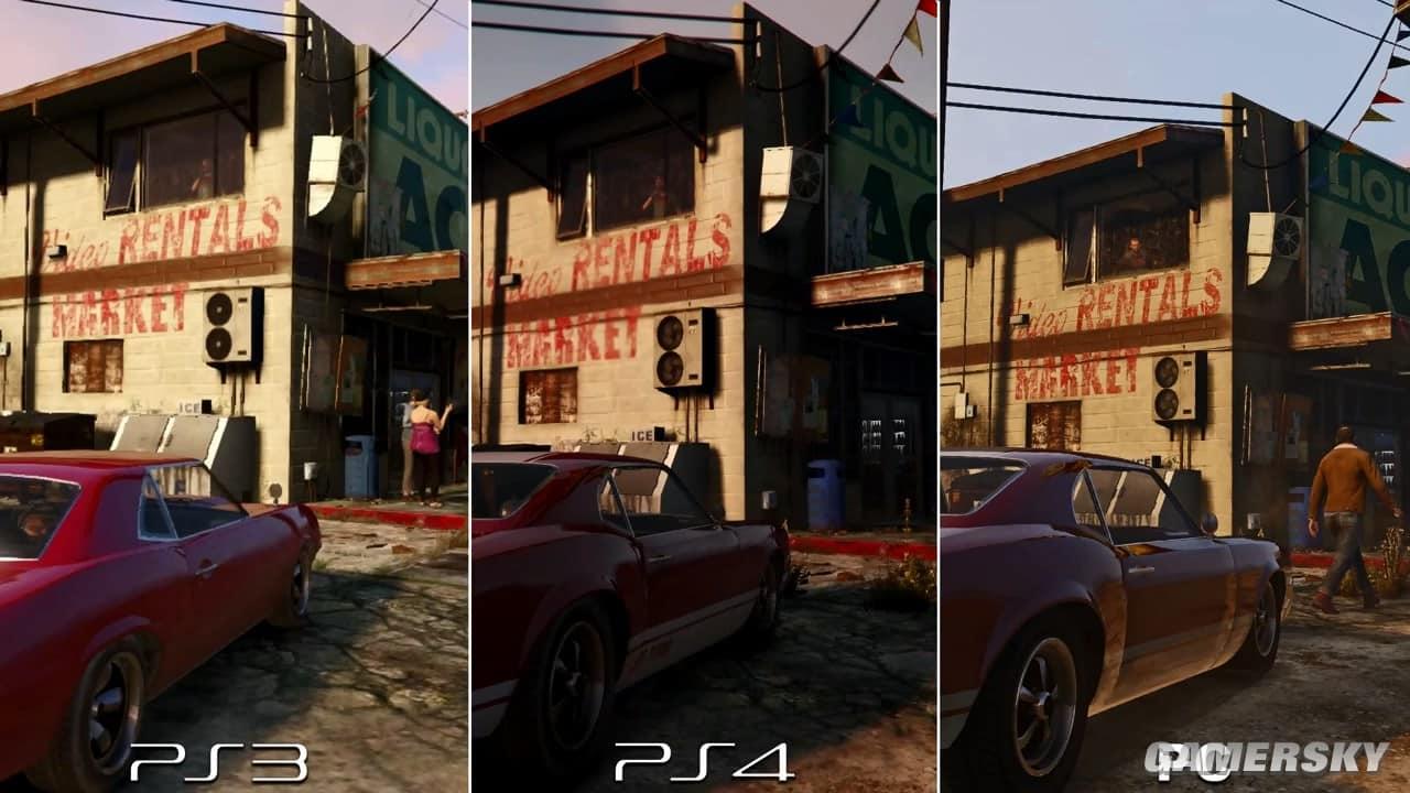 GTA V Graphics Comparison: PS3 v PS4 v PC - GTA BOOM