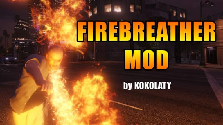 The Fire Breathing Zombie Mod is Impressive - GTA BOOM