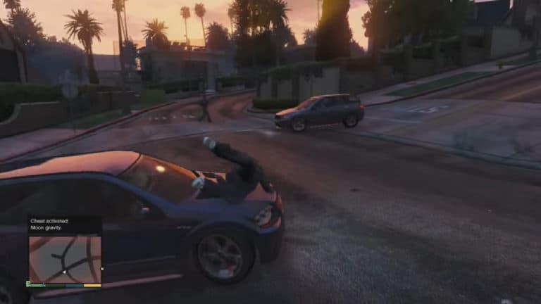 Moon Gravity Cheat Demo Video - GTA BOOM