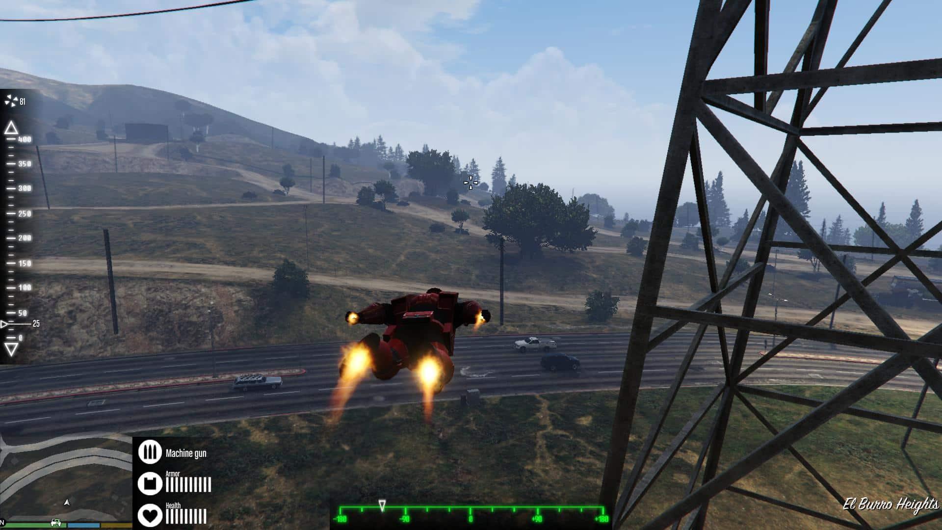 GTA 5 Meets Iron Man - GTA BOOM