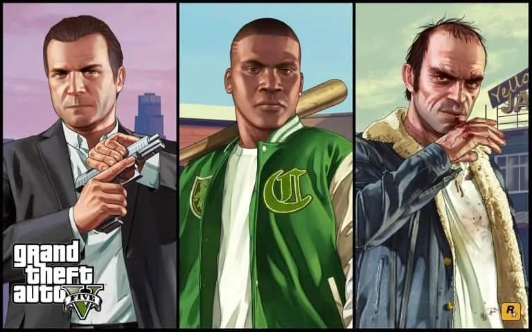 The Three Main Characters of GTA 5 - GTA BOOM