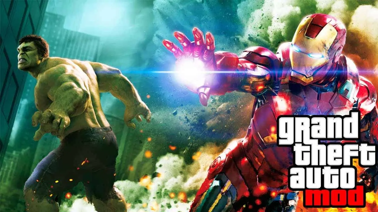 GTA V Is The Best Avengers Game - GTA BOOM