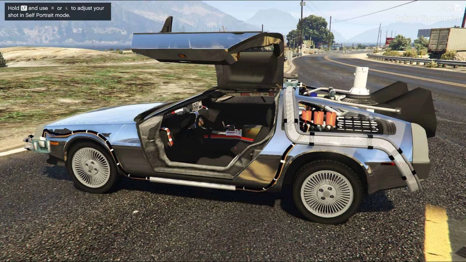 Mad Max Car For Sale >> GTA V Meets Back To The Future (Video) - GTA 5 Cheats