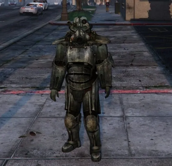 how to take off power armour in fallout 4