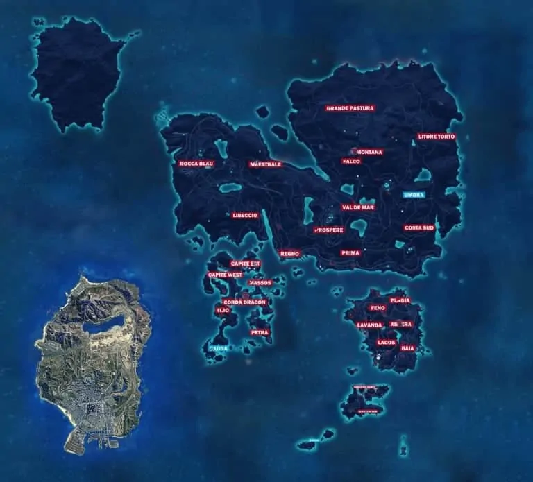 You Won T Believe Just Cause 3 S Map Compared To Gta V Gta