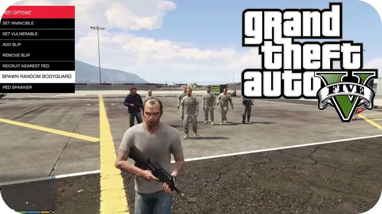 Get Your Own Army Of Bodyguards in Los Santos - GTA BOOM