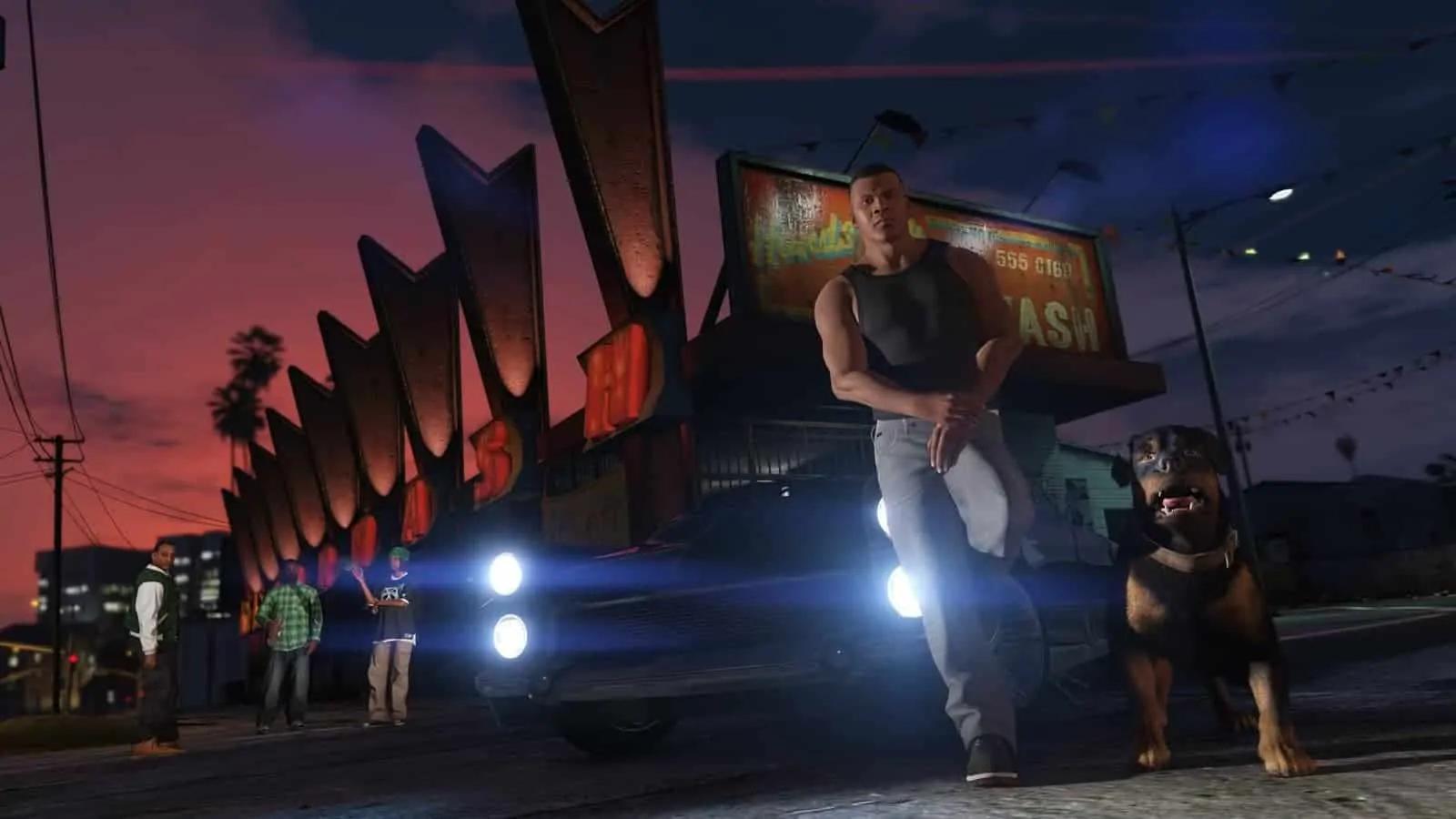 Brawl Through The Streets Of GTA V - GTA BOOM
