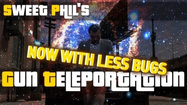 GTA V Gets A Teleportation Gun - GTA BOOM