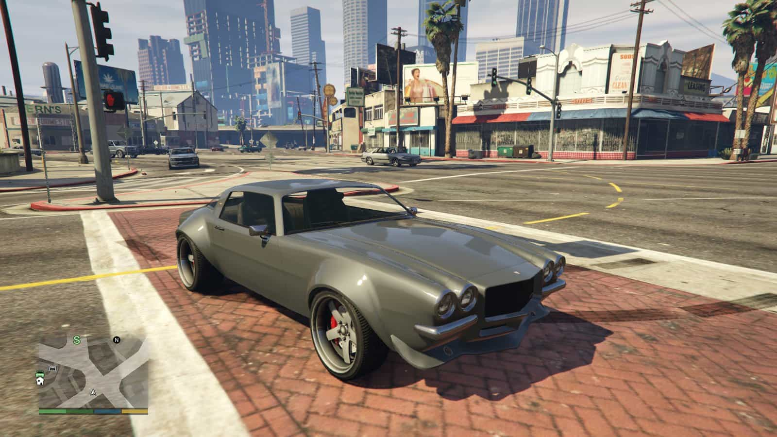 GTA Online Executives DLC Cars Added To Single Player