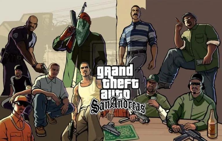 GTA San Andreas Released On PSN - GTA BOOM