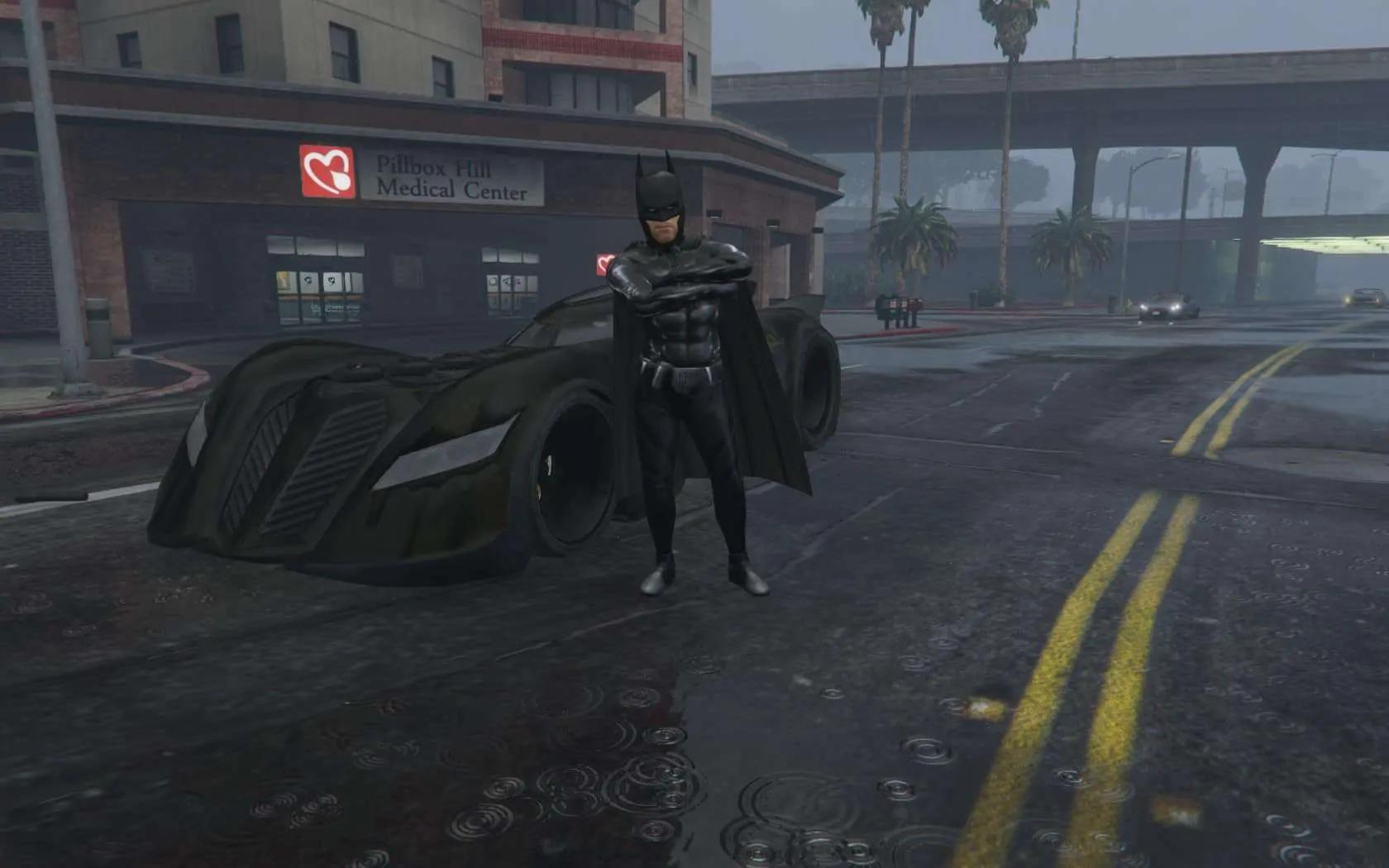 This GTA V Mod Turns You Into Batman - GTA BOOM