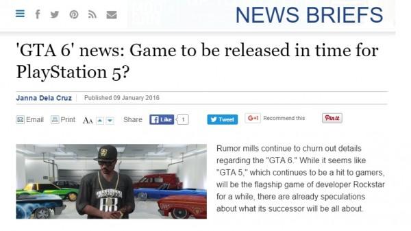 GTA BOOM: Wading through endless bullshit so you don't have to!