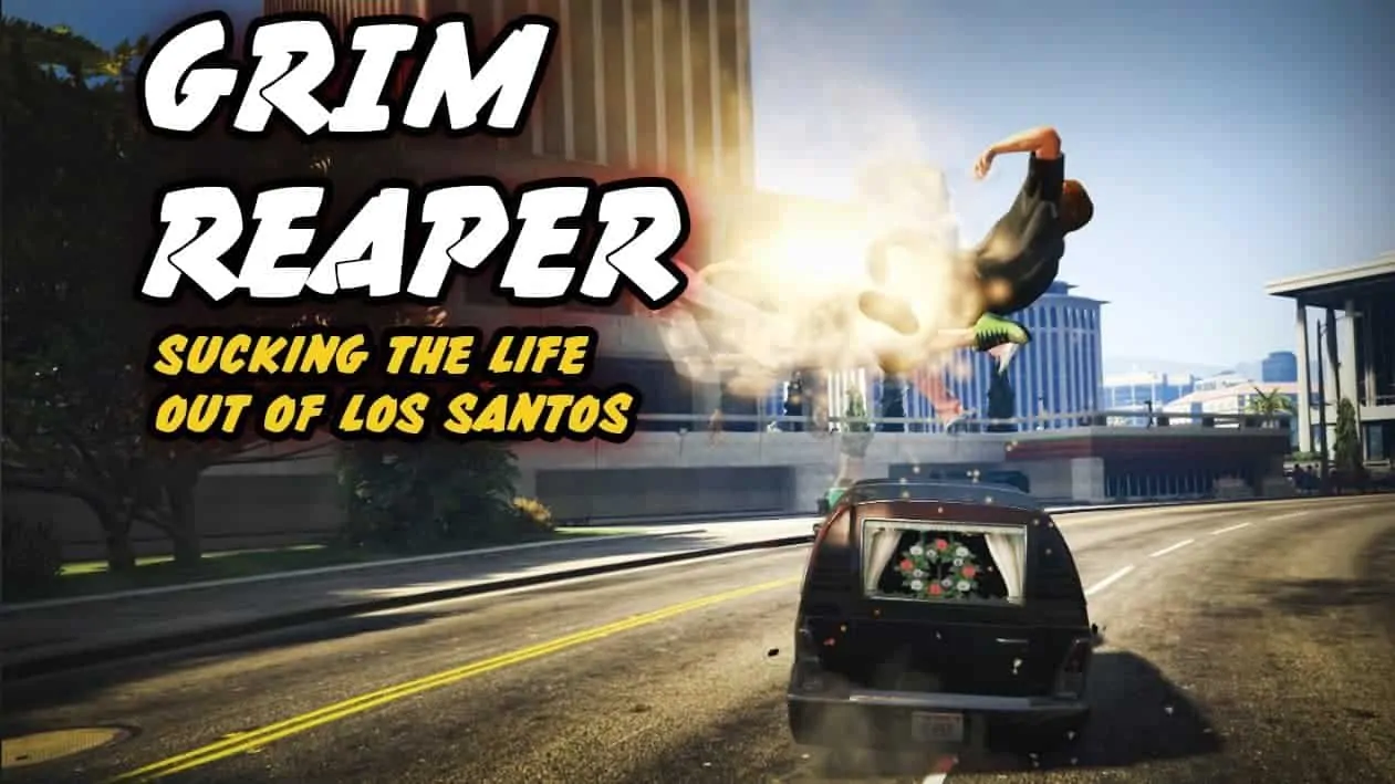 GTA V Gets Reaped With New Mod - GTA BOOM