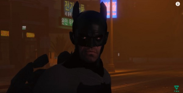 Trevor as Batman