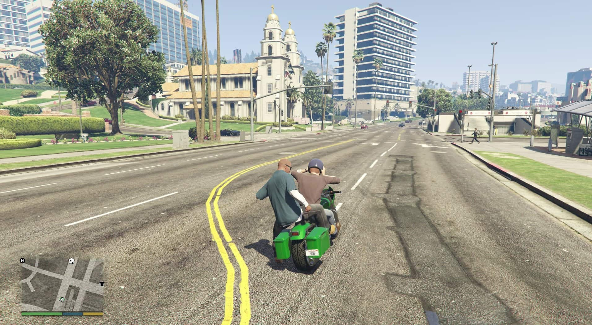 GTA V Goes Local Multiplayer With WIP Mod - GTA BOOM