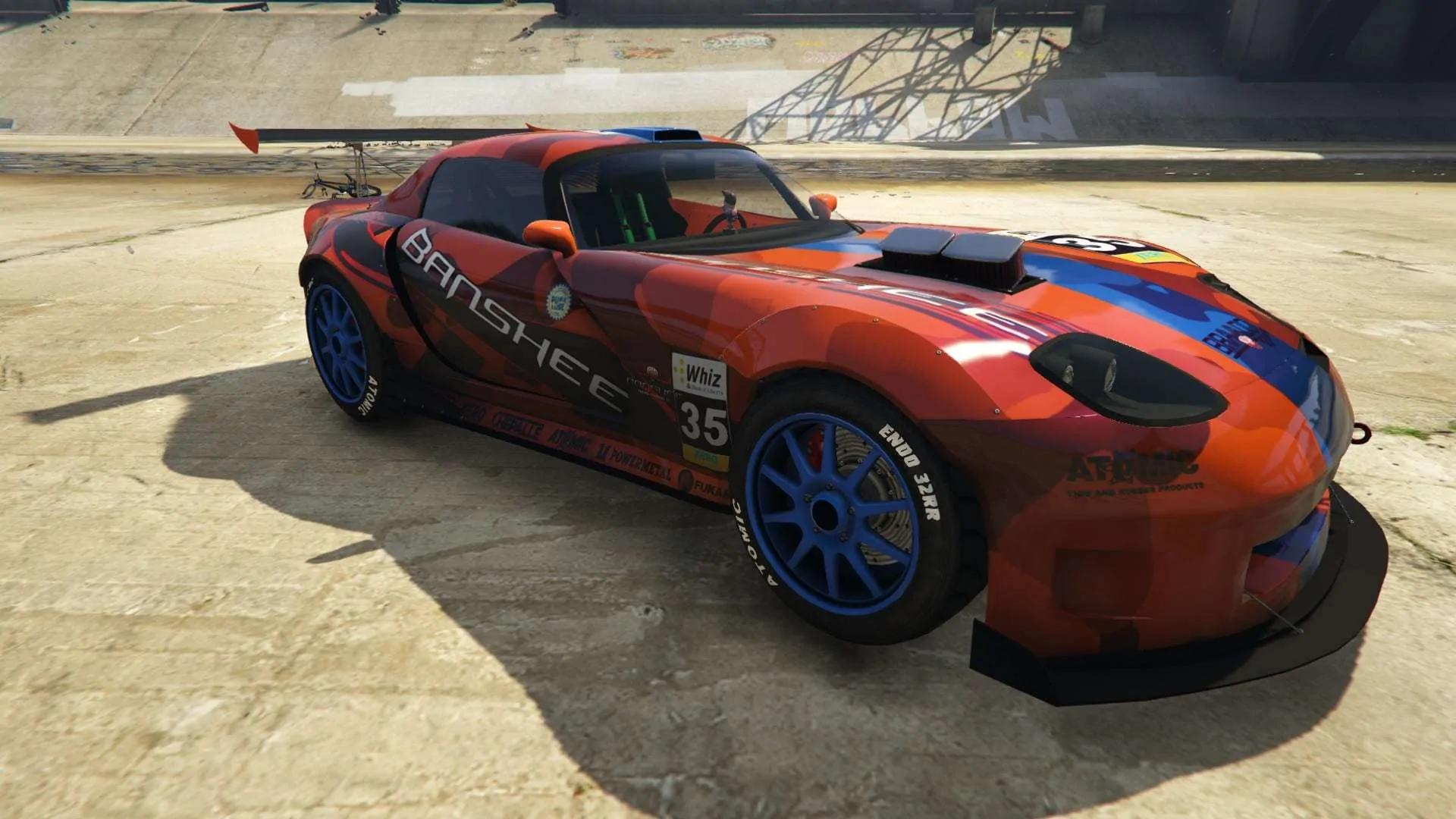 gta fastest cars