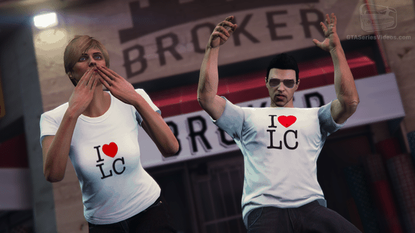 Logging in to the Social Club through the LCS app will get you some sweet new shirts in GTA Online.