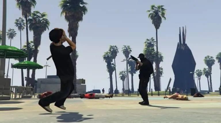 GTA V's NPCs Get Movement Overhaul (Mod) - GTA BOOM